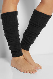 Falke Striggings knitted legwarmers
