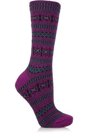 Falke Norwegian knitted socks