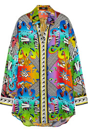 Versus Printed silk shirt