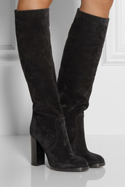 Michael Kors Malbon suede knee boots