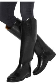 Le Chameau Alezan leather-lined rubber riding boots