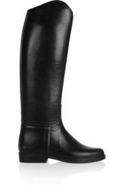 Alezan leather-lined rubber riding boots