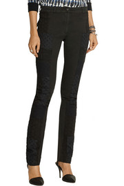 Preen Line Wells patchwork skinny jeans