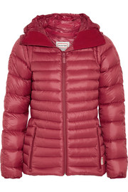 Hunter Original Hooded shell down jacket