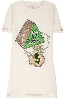 LuellaGraphic print cotton T-shirt