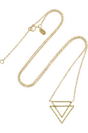 Maria Black Fine Jewelry Nicky 18-karat gold necklace