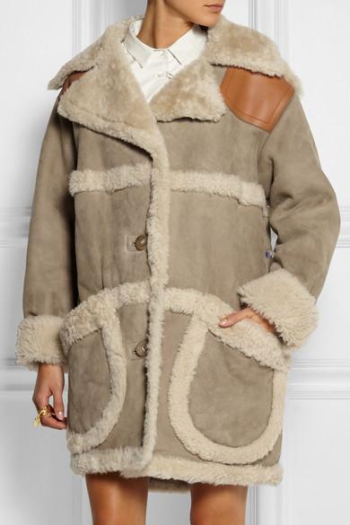 Coach | Oversized shearling coat | NET-A-PORTER.COM