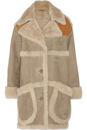 Coach Oversized shearling coat