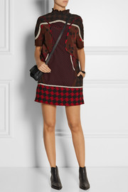 Coach Printed silk crepe de chine mini dress