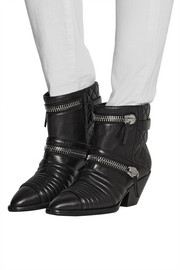 Giuseppe Zanotti Embellished leather ankle boots