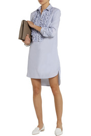 Richard Nicoll Origami-detailed cotton mini dress