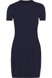 Richard Nicoll Cable-knit mini dress