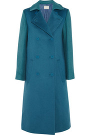 Richard Nicoll Brushed wool and angora-blend coat