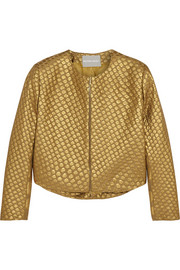 Richard Nicoll Polka dot-jacquard jacket