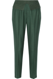 Prabal Gurung Wool and cashmere-blend gabardine pants