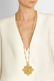 Fred Leighton 1970s 18-karat gold necklace