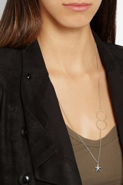 Inez and Vinoodh Sterling silver necklace