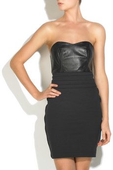 Kova & T Lila strapless dress