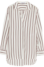 Elizabeth and James Sade striped silk shirt