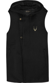 Lucas Hugh Hooded mesh vest