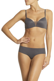 Calvin Klein Underwear Perfectly Fit stretch-jersey and stretch-lace contour bra