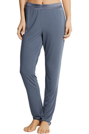 Calvin Klein Underwear Satin-trimmed stretch-modal pajama pants