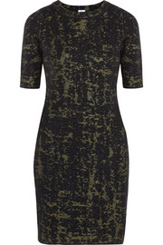 M Missoni Jacquard-knit wool-blend dress