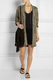 M Missoni Metallic knitted cardigan