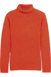 M Missoni Open-knit turtleneck sweater