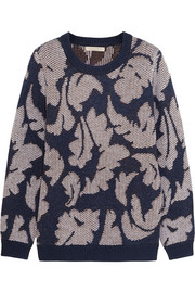 Burberry Brit Jacquard-knit sweater