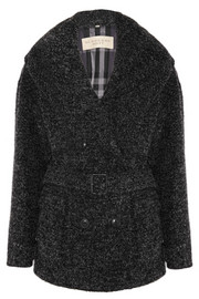 Burberry Brit Wool-blend bouclé cardi-coat