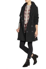 Burberry Brit Shawl-collar wool-blend cardi-coat