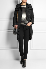 Burberry Brit Quilted shell coat