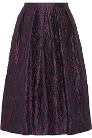 Burberry London Jacquard midi skirt