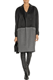 Burberry London Two-tone cashmere coat