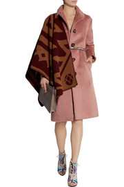 Burberry Prorsum Brushed-wool coat