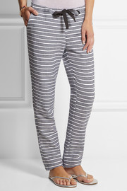 LemLem Tara striped cotton-blend pants