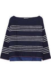 LemLem Kulkulu striped merino wool top