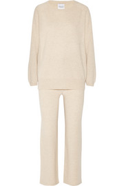 Madeleine Thompson Martha cashmere pajama set