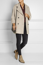 MiH Jeans The Larking textured alpaca and wool-blend coat