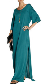 Baja East Modal-jersey maxi dress
