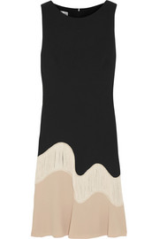 PHILOSOPHY Fringed crepe dress