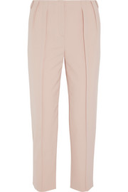 PHILOSOPHY Pleated crepe tapered pants