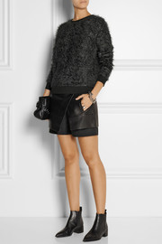 Tibi Textured-knit sweater