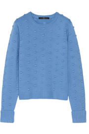Tibi Bobble-knit merino wool sweater