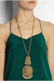 Ben-Amun Gold-plated necklace