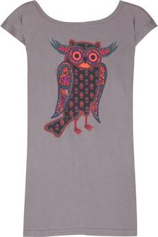 Marc by Marc JacobsCotton owl-print T-shirt
