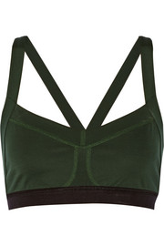 Theory+ Zing stretch-jersey sports bra