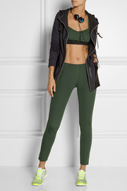 Theory+ Via high-rise stretch-jersey leggings