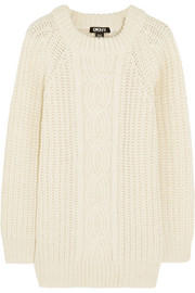 DKNY Cable-knit sweater